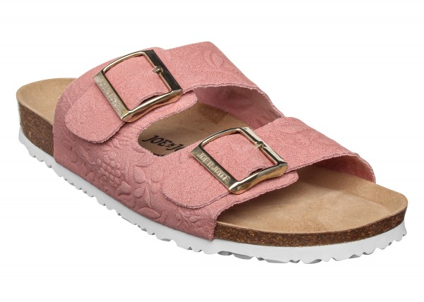 London Sandal Suede Embossed Comfort