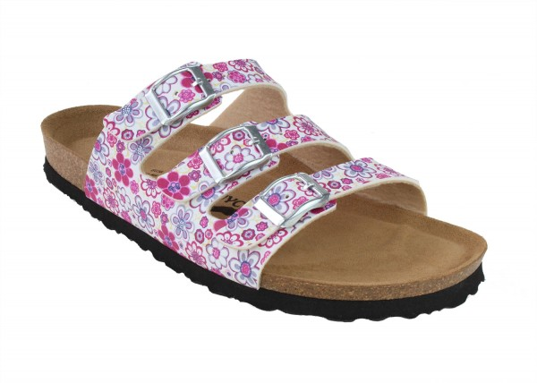 Paris SynSoft Flower Comfort-Footbed Narrow